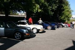 Porsche Ducati car and bike show 1/28