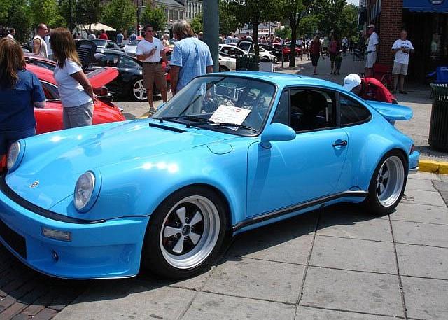 Porsche Parade 2015 at French Lick, Indiana